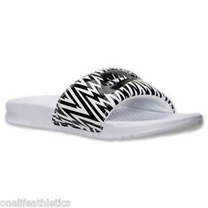 new style 67d55 03aa2 Image is loading Nike-Benassi-JDI-Slide-Women-039-s-Sandal-