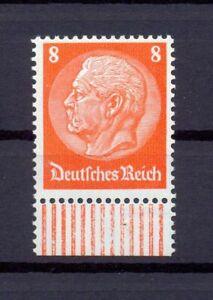 DR-485-I-Hindenburg-Wz-Waffel-8-Pfg-postfrisch-geprueft-or292