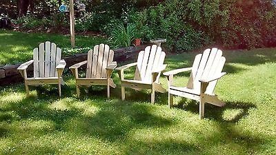 Phenomenal Adirondack Patio Porch Or Firepit Chairs Ebay Machost Co Dining Chair Design Ideas Machostcouk