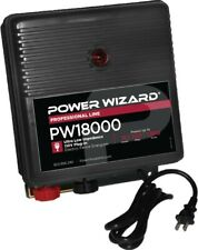 Electric Fence Charger 18 Joule Power Wizard 300 Miles 3000 Discount