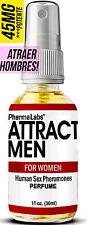 FEROMONAS PARA ATRAER HOMBRES! PODEROSAS SEXO FEROMONA HUMANAS perfume 1oz #045