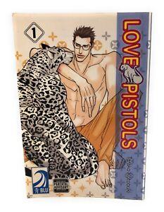 Love-Pistols-Vol-1-Tarako-Kotobuki-Yaoi-English-Manga-book-RARE-graphic-novel