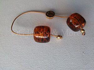Greek-Begleri-mini-komboloi-brown-transparent-15mm-bead-gp-peace-tina-creations