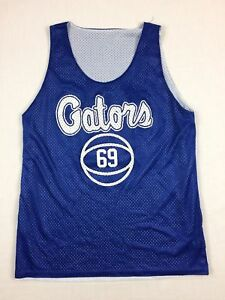 Badger-Sport-Florida-Gators-Blue-Poly-Jersey-Multiple-Sizes-Used