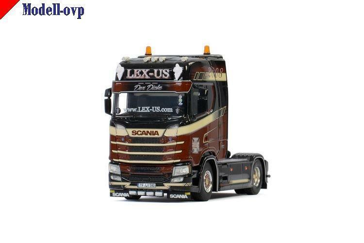 Scania S hochline CS20H 4x2 Lex-Us WSI Modells  01-2885 1 50