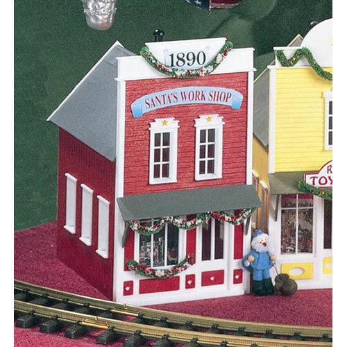 Articles de modélisme ferroviaire à l'échelle G Articles de modélisme ferroviaire PIKO Santa's Workshop Pleasantown Kit G Gauge 62200