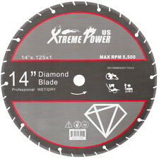 14 Diamond Metal Steel Cut Off Saw Blade Wheel Abrasive 14 Inch X 0125 X 1