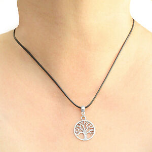 Tree-of-Life-Round-Charm-Pendant-Necklace-with-Black-Cord