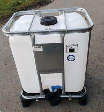 neu 300l IBC Container Mini Tank UN-Zulassung lebensmittelecht auf PE-Palette