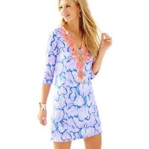 7517e409670cf5 New Lilly Pulitzer Bordeaux Tunic Dress in Lillys Lilac House of ...