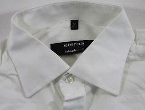 TC7720 ETERNA EXCELLENT BLACKLINE Business-Hemd WEIß langarm Gr. 42 TOP