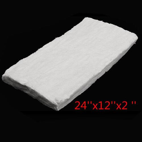4-Size Ceramic Fiber Blanket High Temperature Thermal Temp Insulation White