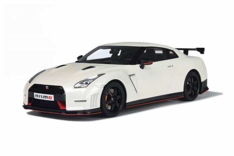 venderse como panqueques GT Spirit Nissan R35 R35 R35 GT-R Nismo Pearl blanco 1 18New artículo   envío gratuito a nivel mundial