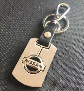For-Nissan-auto-Keyring-Chain-Ring-Car-Steel-Turned-Buckle-Keyring-Keychain-Ring