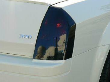2005 2006 2007 2008 2009 2010 Subject 9 Fits: Chrysler 300//300c Pre-Cut Vinyl Overlay Tint Taillight Plus Light 35/%
