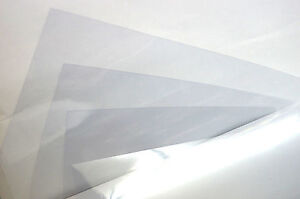 5 Sheets Clear A4 Acetate Sheets Transparent Clear OHP Craft Plastic Film