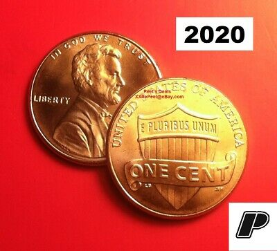 2020 D Lincoln Shield Cent BU from Bank Roll FREE SHIPPING!