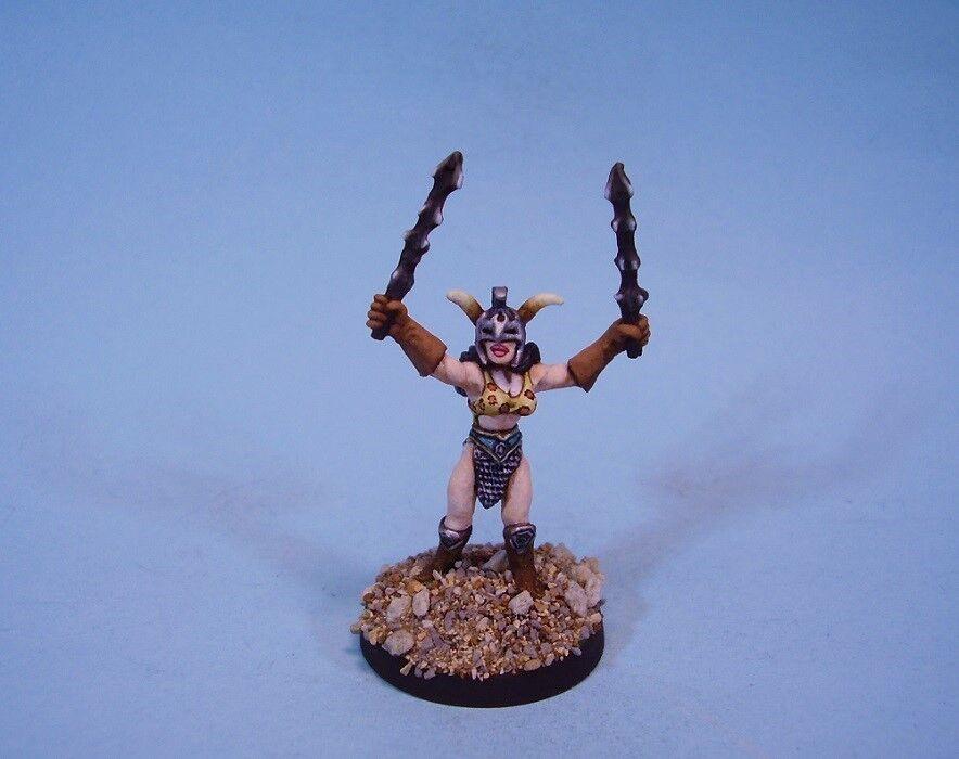 Ral Partha painted miniature Darksun Female Gladiator