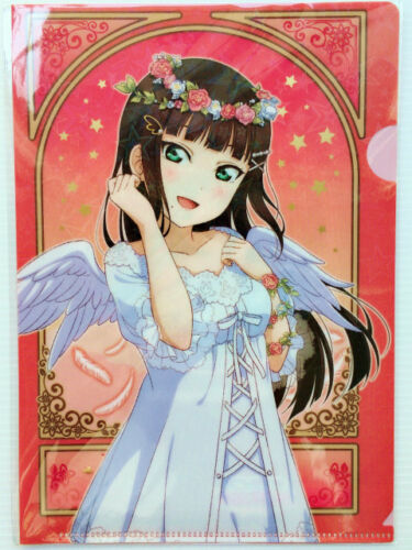 Sunshine Hologram Clear File Ver Love Live Angel You Dia Mari Riko Aqours ...