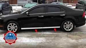 2006-2012-Ford-Fusion-Lincoln-MKZ-Bottom-Rocker-Panel-Side-Molding-Trim-2-5-034-4Pc