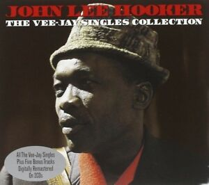 JOHN-LEE-HOOKER-VEE-JAY-SINGLES-COLLECTION-2-CD-NEUF