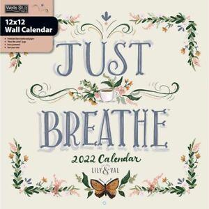 Wells Street by LANG,  Just Breathe 2022 Wall Calendar