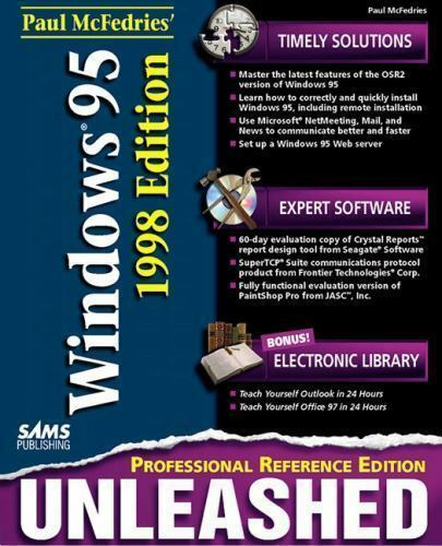 Paul McFedries' Windows 95 Unleashed : Professional Reference Edition