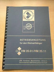 NVA-MULTICAR-ANHANGER-HM-20-01-HM-20-11-FORTSCHRITT