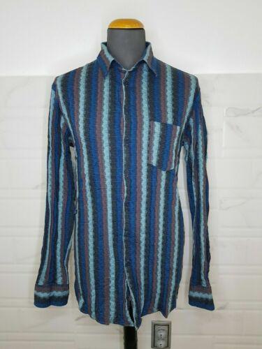 MISSONI Men's Multicoulored Long Sleeve Shirt Size