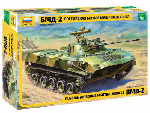 Russian Airborne Fighting Vehicle BMD-2 3577  Zvezda 1:35 New!