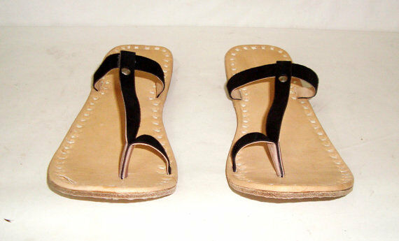 New Leather Women Handmade Slipper Everyday Use Women Leather Flip Flop Sandal. 5350c8