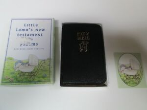 Details about Little Lamb's New Testament with Psalms Black Holy Bible New  King James Version