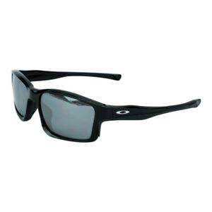 Oakley Men's MPH Chainlink Sunglasses Polished Black w/ Black Iridium