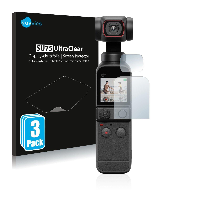 Screen Protector for DJI Osmo Pocket 2 (Display + Lens) Protective Film Shield