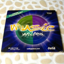 Music United Collegeplus.com 2000 Coca-Cola Promo Enhanced CD-ROM RARE #12-3