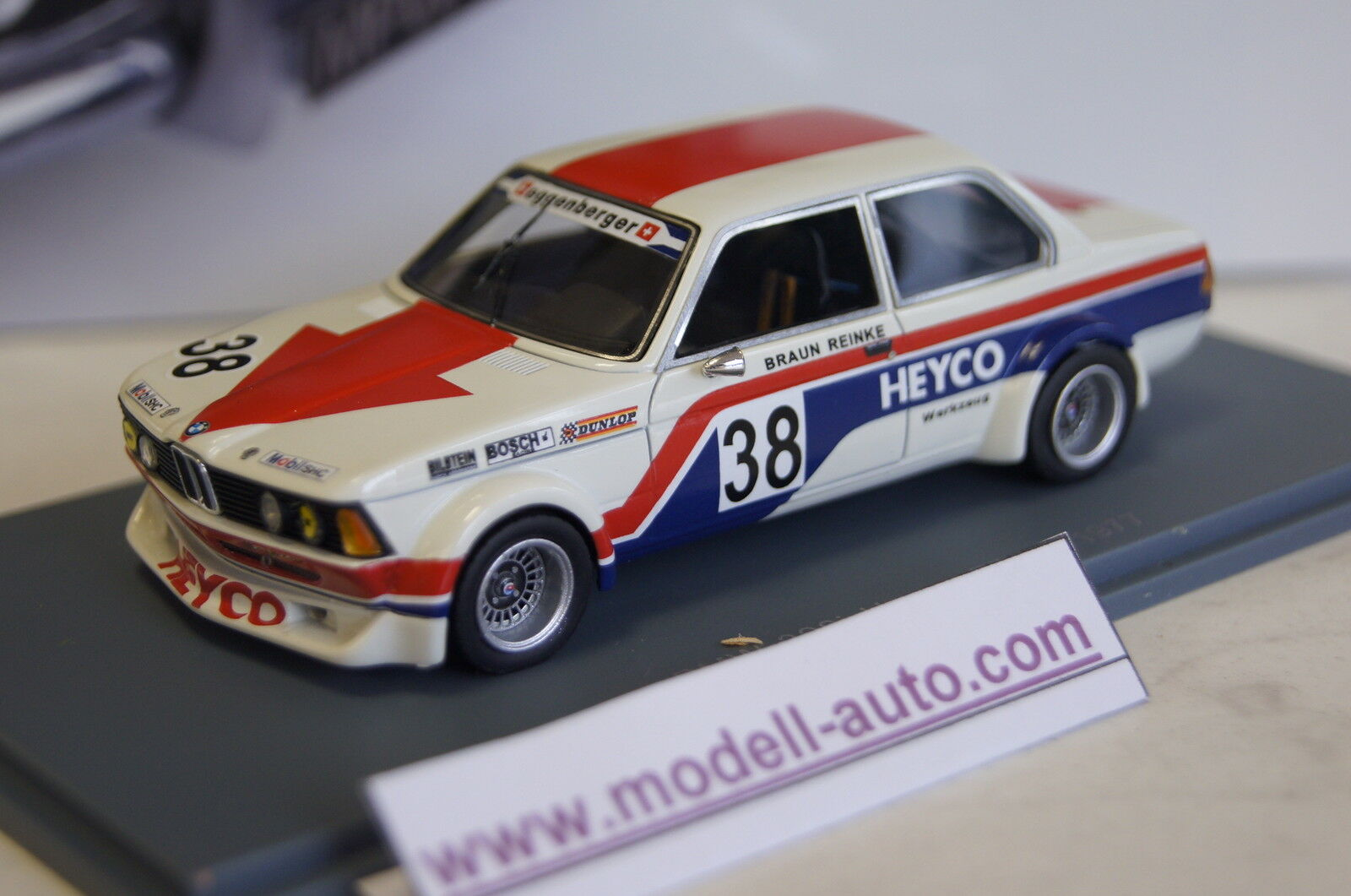 BMW 320 taille 2 Heyco herses Berger MS ETCC 1977 1 43 Neo NOUVEAU & OVP
