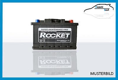 rocket autobatterie kfz starter batterie 55ah 510a ebay. Black Bedroom Furniture Sets. Home Design Ideas