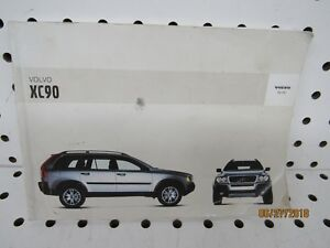 2003-Volvo-XC90-Owners-Manual-book-only-FREE-SHIPPING