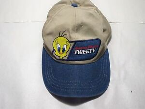 Image is loading VINTAGE-OFFICIAL-WARNER-BROS-LOONEY-TUNES-BASEBALL-HAT- 4a4fc6b0a409