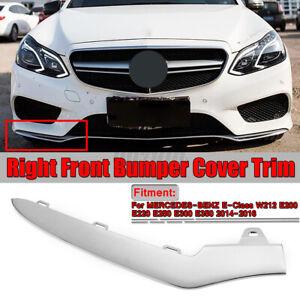 Front-Right-Bumper-Lower-Chrome-Molding-For-Mercedes-W212-E220-E250-E300