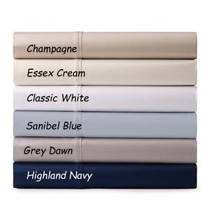 RALPH LAUREN Bedford Jacquard 400TC  Sateen KING Pillowcases Essex Cream  165