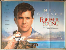 Cinema Poster: FOREVER YOUNG 1992 (Quad) Mel Gibson Jamie Lee Curtis Elijah Wood