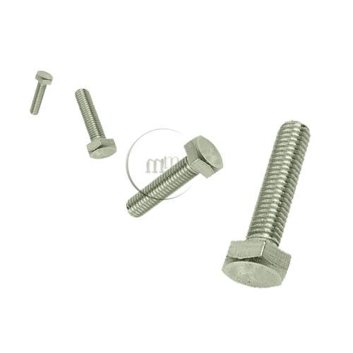 A2 Stainless Steel Hexagon Head Set Screws 12mm Diameter Hex Head Bolts M12
