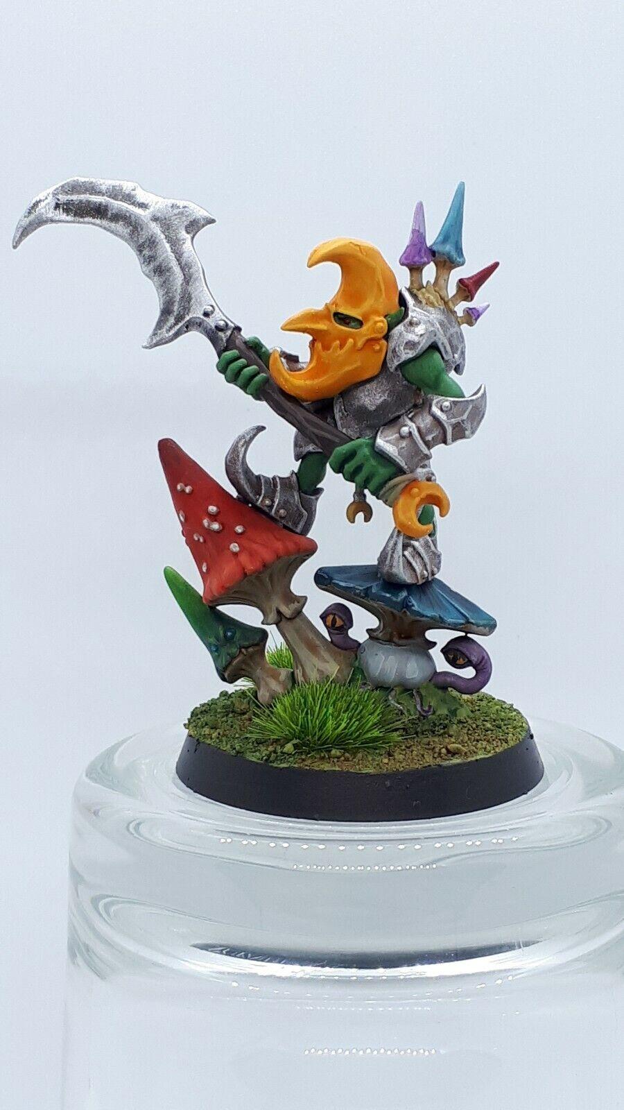 Games Workshop Gloomspite Gitz Loonboss Painted Moonclan goblin