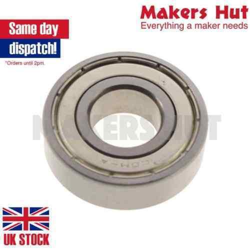 MR74ZZ 4X7X2.5 Miniature Deep Groove Ball Bearing Double Shielded ID 4mm