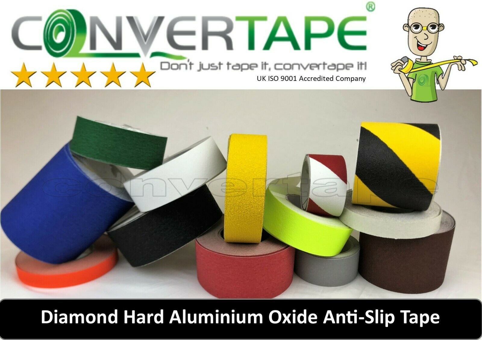 Anti Slip Tape Safety Floor Steps Hazard Caution High Grip 25,50,100,150,300mm