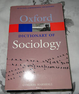 Oxford Dictionary of Sociology Book - London, London, United Kingdom - Oxford Dictionary of Sociology Book - London, London, United Kingdom