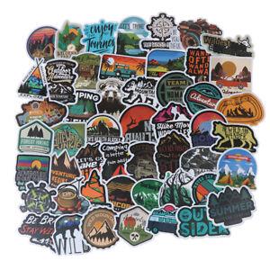 50Pcs-Camping-Landscape-Sticker-Outdoor-Adventure-Suitcase-Laptop-Guitar-StickEF