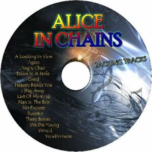 ALICE-IN-CHAINS-GUITAR-BACKING-TRACKS-CD-BEST-GREATEST-HITS-MUSIC-PLAY-ALONG