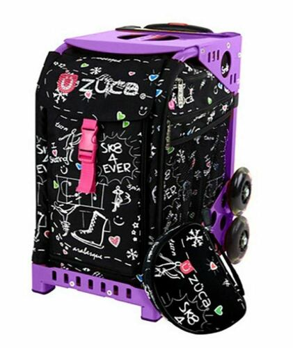 Sk8 Black with Gift 2 Small Utility Pouch Limited Edition Zuca Sport Bag